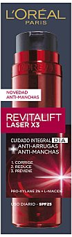 Revitalift L'Orèal Paris Crema Antimanchas Revitalift Laser X3 de Dermo Expertise 50 ml