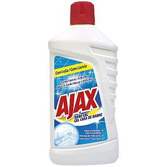 Ajax Limpiador baño con lejía Botella 1 litro