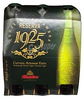 Alhambra Cerveza rubia Botella pack 6 x 1 l - 6 l