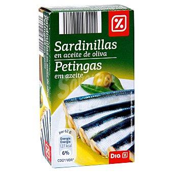 DIA Sardinillas en aceite de oliva Lata 62 grs