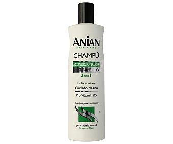 Anian Champú y acondicionador, que facilita el peinado 400 mililitros