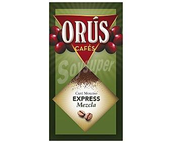 Orus Café Molido Mezcla Fuerte 250 Gramos