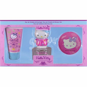 Hello Kitty Colonia Mariposa Vaporizador 50 ml + Gel + Espejo