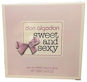 Don Algodón Colonia sweet&sexy para mujer Frasco 100 ml