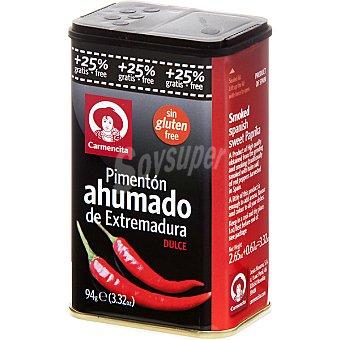 Carmencita Pimentón ahumado dulce de Extremadura Envase 75 g