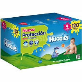 Huggies Pañales Talla 4 Paquete 120 unid