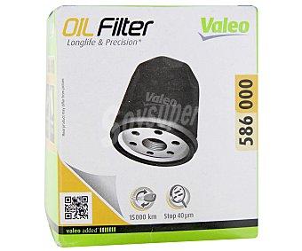 VALEO Filtro de Aceite Modelo 586000 1 Unidad