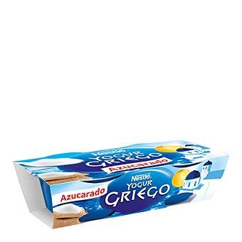 Nestlé Yogur cremoso natural azucarado Griego Pack de 2x120 g