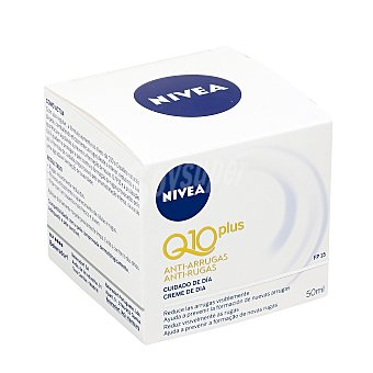 Nivea Crema cuidado de día antiarrugas PF-15 pieles mixtas (Q10 Plus) tarro 50 ml