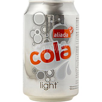 Aliada Refresco de cola light Lata 33 cl