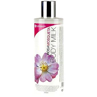 Flor de Mayo Leche corporal hidratante Rosa Mosqueta Frasco 300 ml