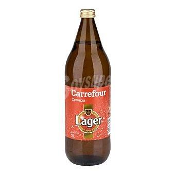 Carrefour Cerveza Carrefour Lager Botella 1 l