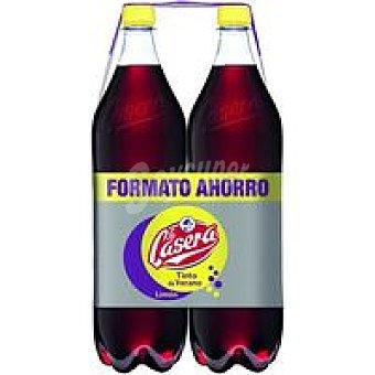 La Casera Tinto de verano de limón pack 2x1,5 litros