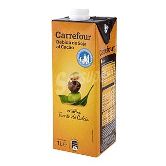 Carrefour Bebida de soja con chocolate 1 l