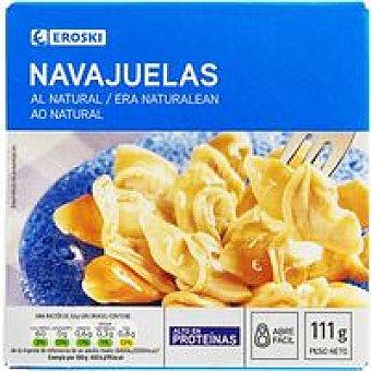 Eroski Navajuela al natural mediana 8/14 piezas Lata 63 g