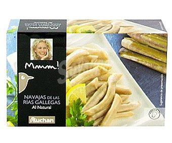 Mmm Auchan Navajas de las Rías Gallegas al Natural 63 Gramos