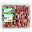 Costillas frescas de cerdo cortadas Bandeja 900 g peso aprox. LA MONTAÑERA