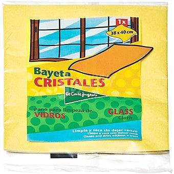 El Corte Inglés Bayeta para cristales Paquete 1 unidad