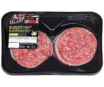 Zelain Burger meat de vacuno con ajo y perejil y elaboradas sin gluten 4 uds