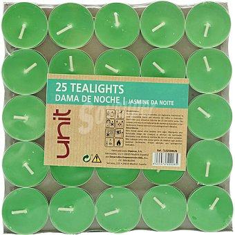 Unit Basic tealights dama de noche pack 25 uds Pack 25 uds