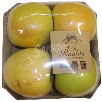 Manzana Golden ecológica bandeja 650 g