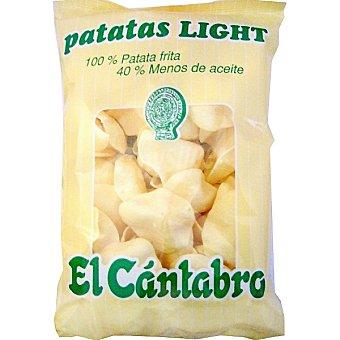 El Cántabro Patatas fritas light Bolsa 110 g