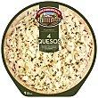 Pizza fresca 4 quesos cocida al horno de piedra 390 g Casa Tarradellas