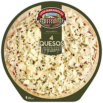 Casa Tarradellas Pizza 4 quesos Unidad 390 g