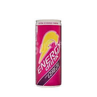 Energy Drink Bebida energetica cereza Lata 250 ml