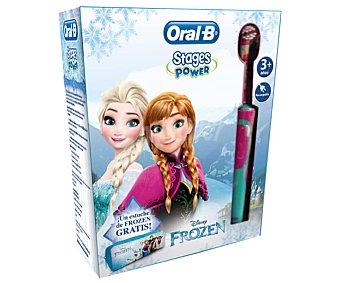 Oral-B Cepillo dental eléctrico infantil, con estuche de frozen Frozen Frozen