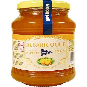 HIPERCOR mermelada de albaricoque frasco 650 g