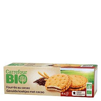 Carrefour Bio Galletas rellenas de chocolate ecológicas 185 G 185 g