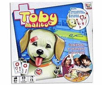 IMC Juego de Mesa Infantil Perrito Tobi Enfermo, 1 o más Jugadores 1 Unidad
