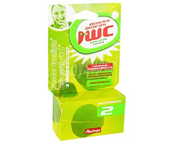 Auchan Recambio Bloque Wc Eucalipto 2u