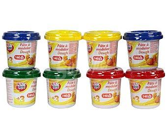 Rik&Rok Auchan Pasta de Moldear de diferentes colores, no Tóxica, 1 Unidad