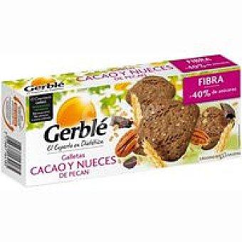 Gerblé Galleta de cacao-nueces de pecan Caja 132 g