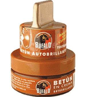 Bufalo Crema para calzado color Tostado Tarro de 40 ml