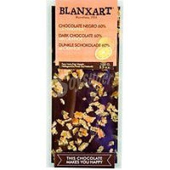 BLANXART Chocolate negro con naranja 100 g
