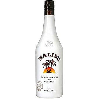 Malibu Ron caribeño de coco Botella de 1 l