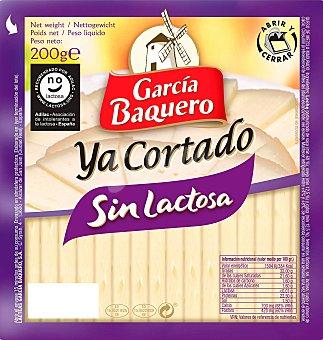 García Baquero Queso sin lactosa cortado 200 g
