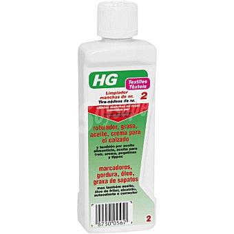 HG Quitamanchas de rotulador grasa aceite crema de calzado  bote 500 ml