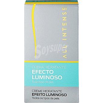 All Intense Crema hidratante efecto luminoso para todo tipo de piel Tubo 50 ml