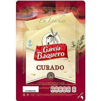 García Baquero Queso curado en lonchas Envase 125 g