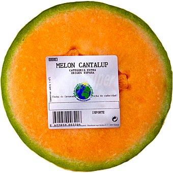 PLANETA VERDE Melón cantaloupe media pieza 750 g  peso aproximado