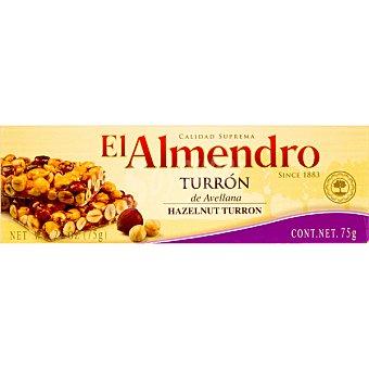 El Almendro Turrón de avellana tableta 75 g