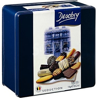 DESOBRY Seduction Galletas surtidas Lata 1000 g