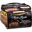 Mousse de chocolate morin Envase 120 g Marie