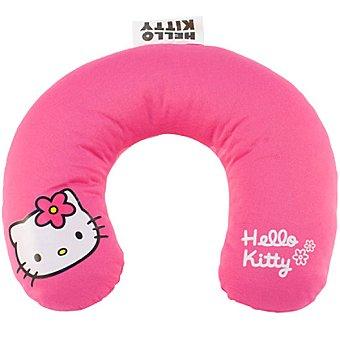 HELLO-KITTY Cojin Cervical para niña en color rosa
