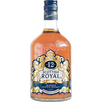 ROYAL Blenden Whisky escocés 12 años  Botella 70 cl