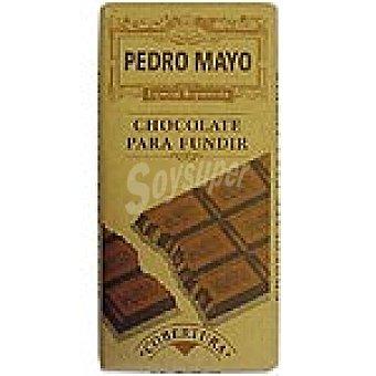 Pedro Mayo Chocolate para fundir cobertura Reposteria Tableta 200 g